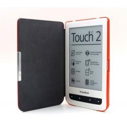 C-TECH pouzdro Pocketbook 614/624/626, HC Red
