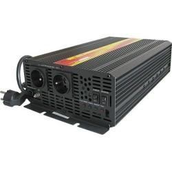 Měnič napětí Carspa EPS3000-12 12V/230V 3000W s nabíječkou 12V/15A a funkcí UPS