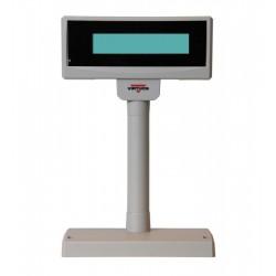 LCD zák.displej FL-2024MW 2x20 RS232, bílý