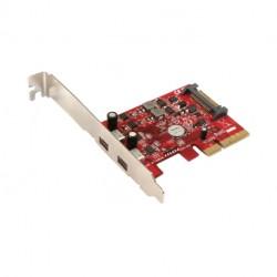 Addonics 2-portový USB 3.1 Type C PCIe 4X řadič