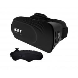 iGET Virtual R2 - VR brýle + BT dálkový ovladač