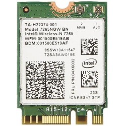 INTEL Dual Band Wireles s-AC 7265,2x2 AC + BT