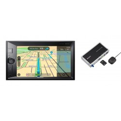 Sony autorádio XNV-KIT100 dot. display BT s nav.
