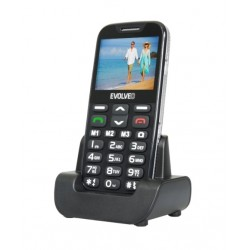EVOLVEO EasyPhone XD, telefon pro seniory, černý