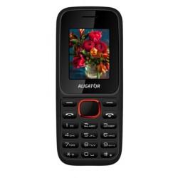ALIGATOR D200 Dual sim černo-červený