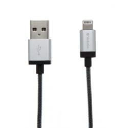 Verbatim Lightning kabel 120cm,SYNC&CHARGE silver