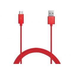 BELKIN MixIt microUSB kabel_tablet,phone,2m červen