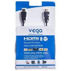 HDMI kabel profesionál 4M - černá barva