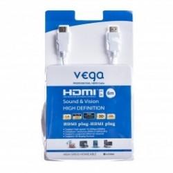 HDMI kabel profesionál 6M - bílá barva