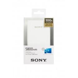 Sony Powerbank CP-E6BW bílý, 5800mAh