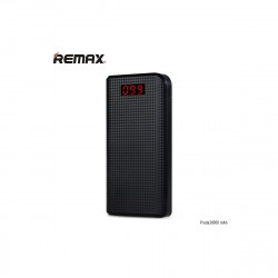 Power bank 30 000 mAh, Remax Proda, černá barva