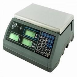 Váha CAS ERplus,bezsloupku,výp.ceny,15kg/5g,6kg/2g